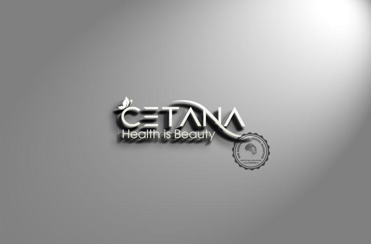 Logo shop mỹ phẩm CETANA