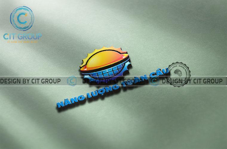 Thiết kế logo công ty năng lượng