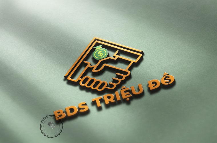 Thiết kế logo bất động sản Triệu Đô