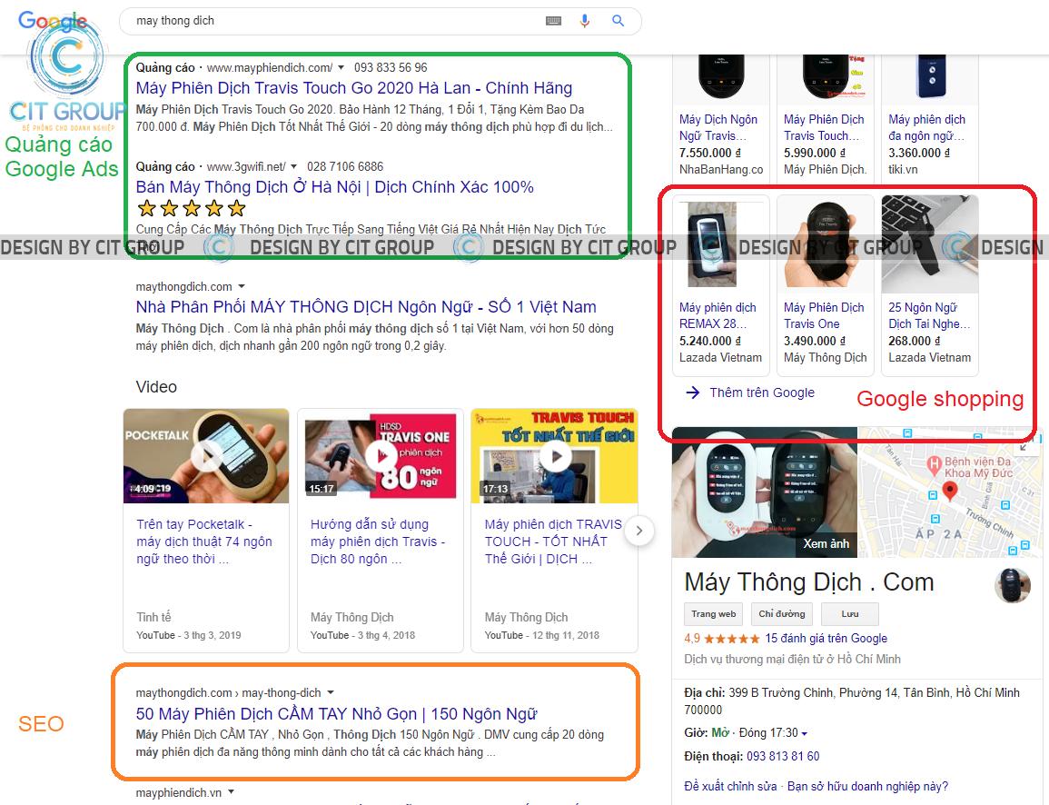 Chạy quảng cáo Google tại Biên Hòa