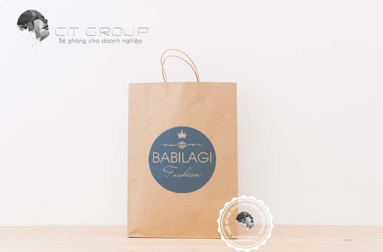 Thiết kế logo shop thời trang Babilagi