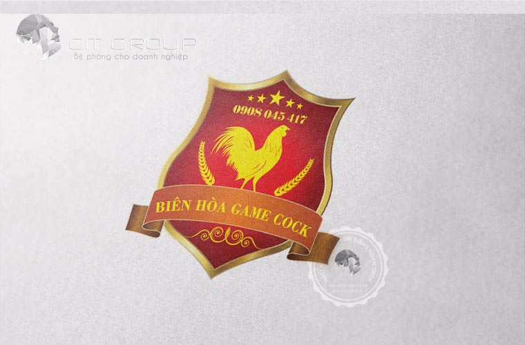 Thiết kế logo game Cock