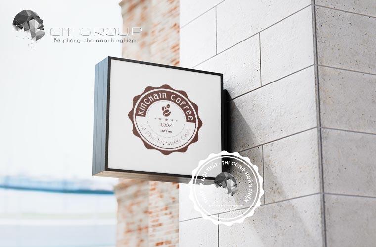 Thiết kế logo cafe Kinchain