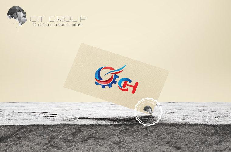 Thiết kế logo công ty cơ khí Chánh Hưng