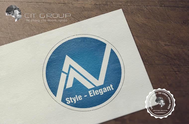 Thiết kế logo công ty MV