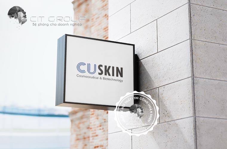Thiết kế logo công ty CUSKIN Vinan