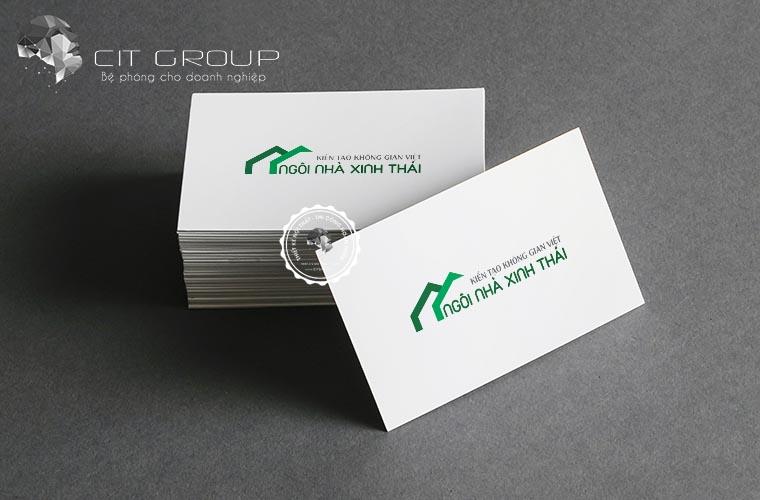 Thiết kế logo công ty ECOHOME
