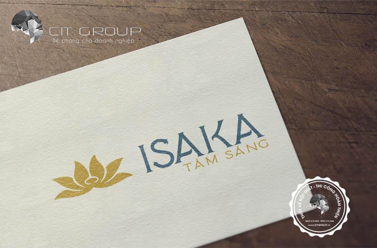 Thiết kế logo công ty ISAKA