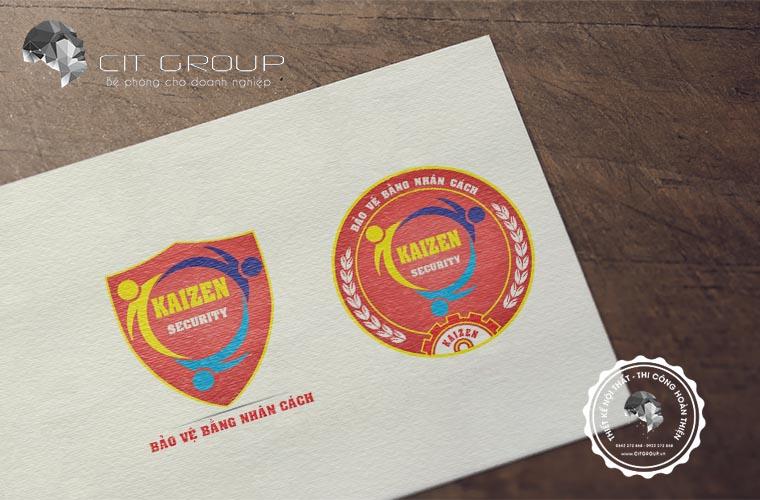 Thiết kế logo công ty Kaizen
