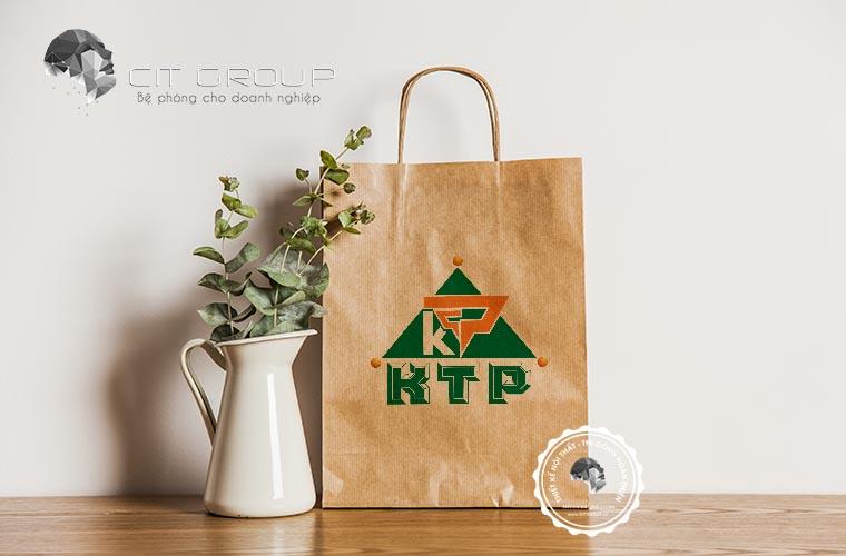 Thiết kế logo công ty KTP
