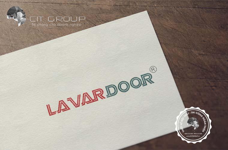 Thiết kế logo công ty Lavardoor