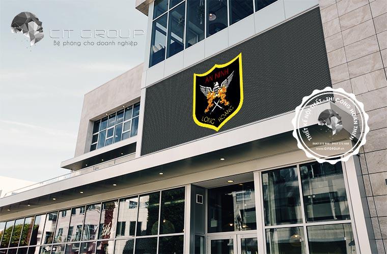 Thiết kế logo công ty Long Hoàng
