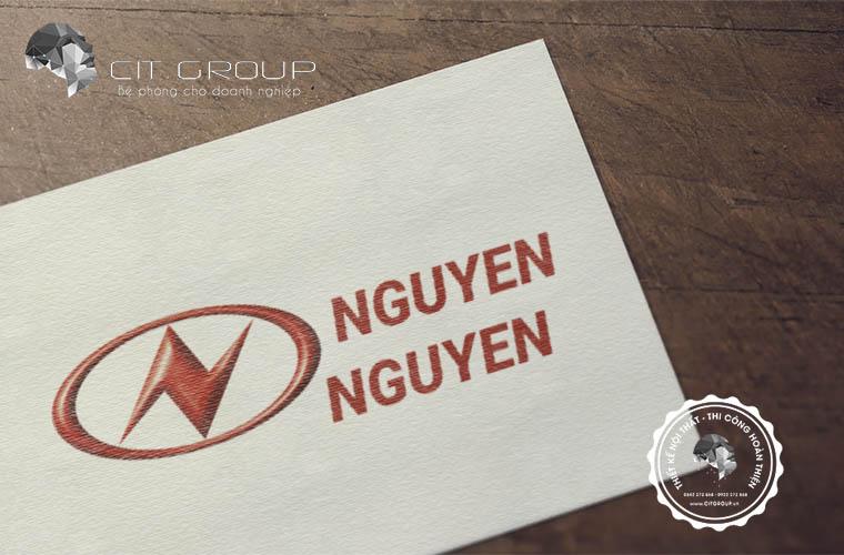 Thiết kế logo công ty Nguyên Nguyên