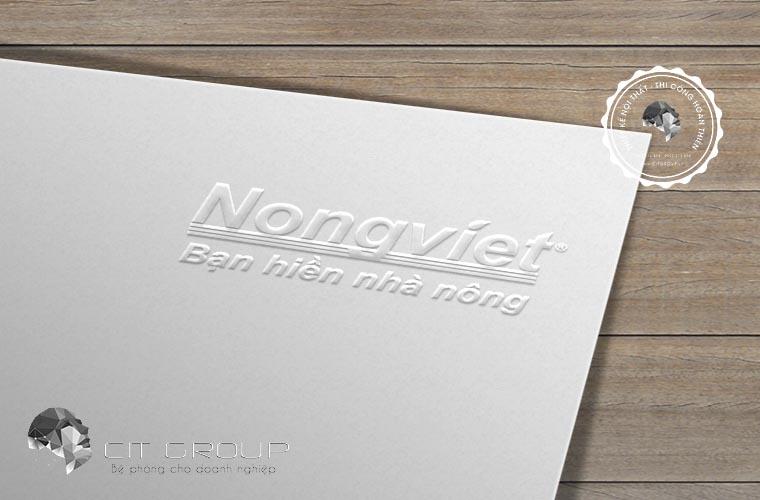 Thiết kế logo công ty Nông Việt