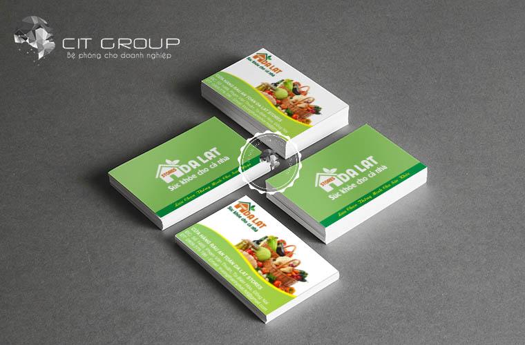 Thiết kế logo shop trái cây Đà lạt
