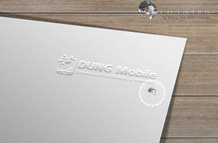 Thiết kế logo Dũng Mobile