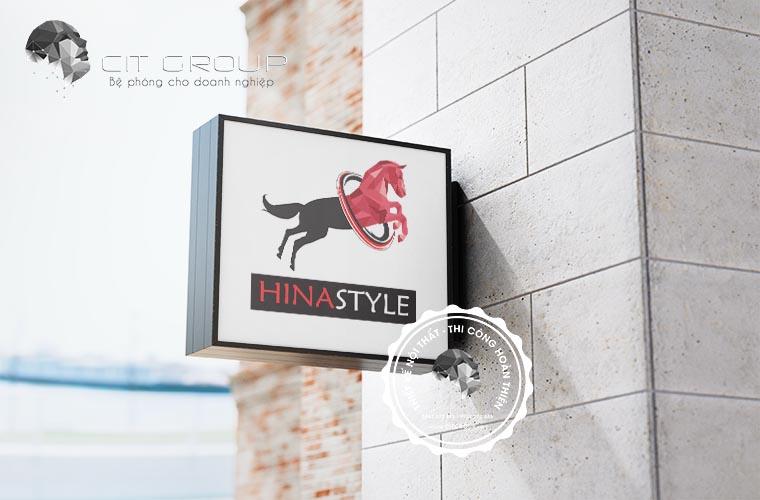 Thiết kế logo Hina Style