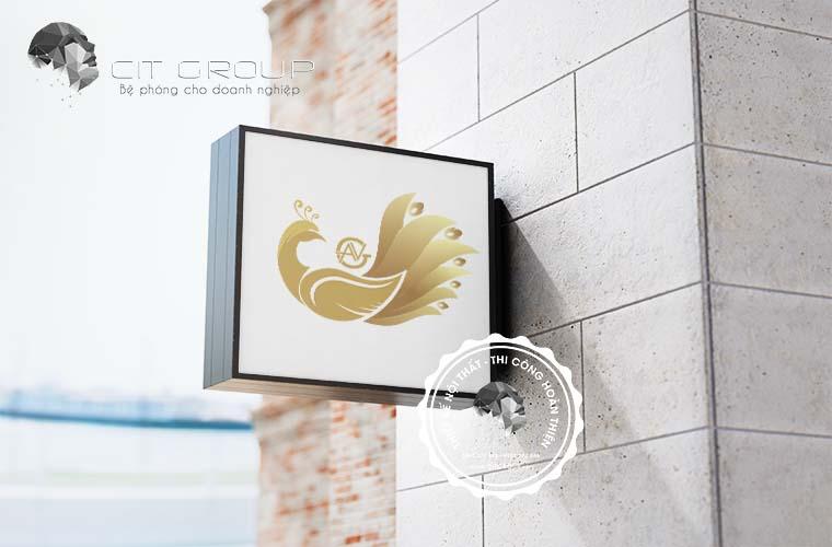 Thiết kế logo hội quán Trang