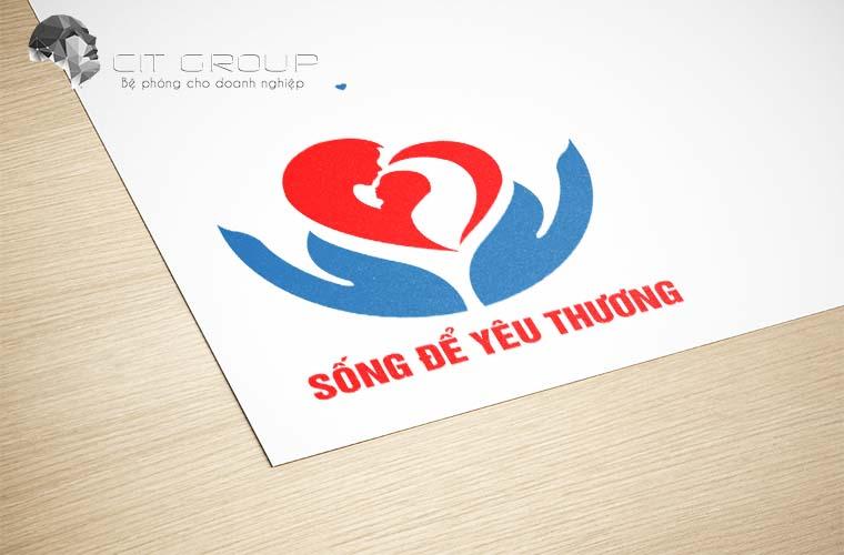 Thiết kế logo hội từ thiện Đồng Nai
