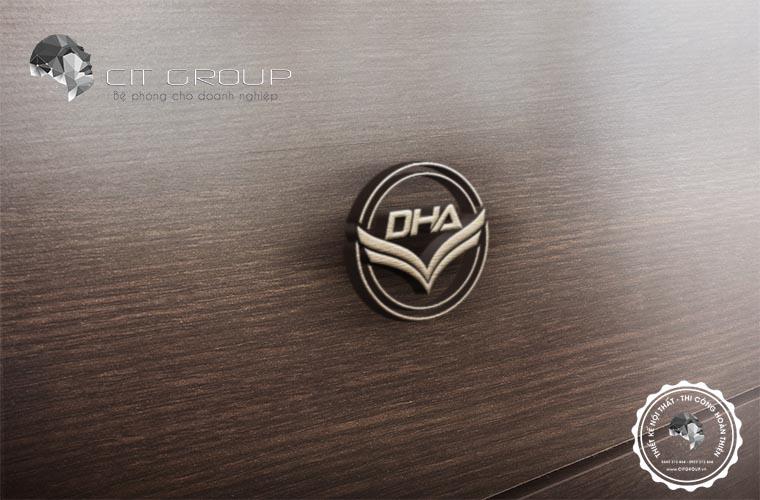 Thiết kế logo công ty Hưng Anh