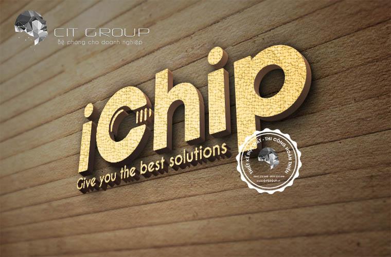 Thiết kế logo Ichip