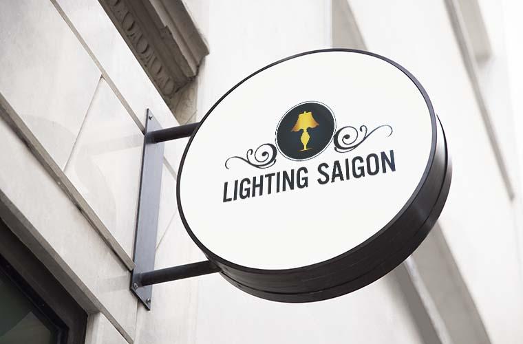 Thiết kế logo công ty Lighting Sài Gòn