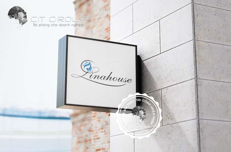 Thiết kế logo LinaHouse