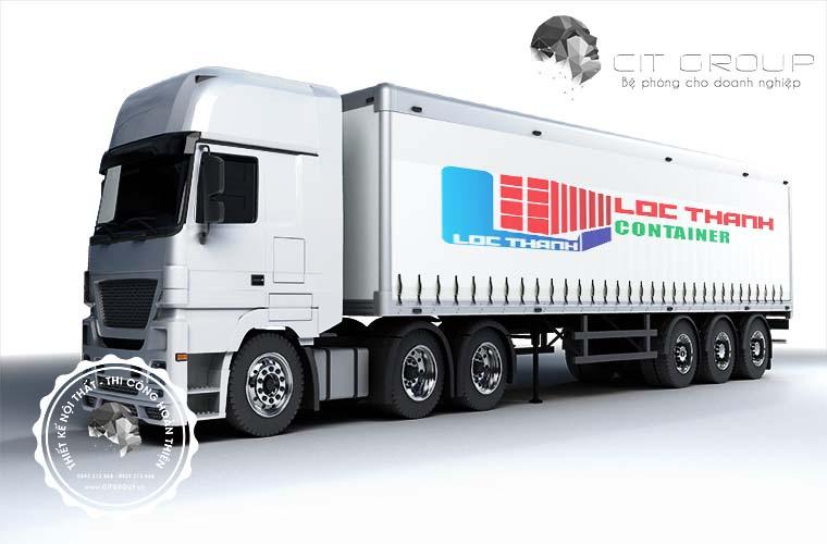 Thiết kế logo công ty Lộc Thành