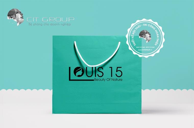 Thiết kế logo Louis15