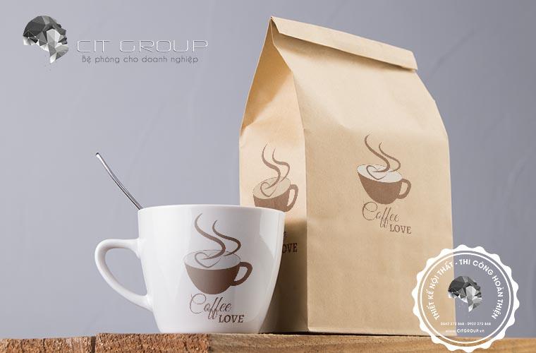 Thiết kế logo Lovecoffee