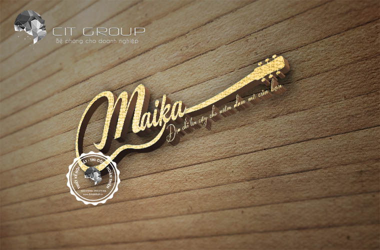 Thiết kế logo Maika