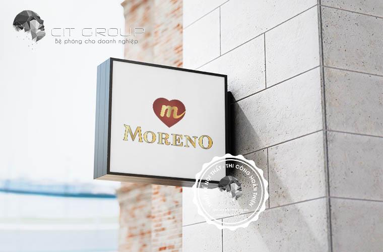 Thiết kế logo Moreno
