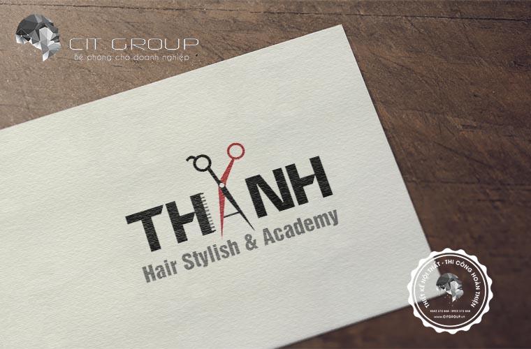 Thiết kế logo salon tóc Thanh
