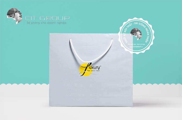 Thiết kế logo thời trang Luxury