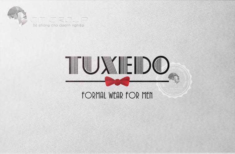 Thiết kế logo shop quần áo Tuxedo