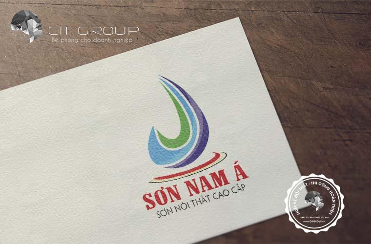 Thiết kế logo công ty Nam Á