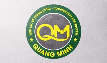 Thiết kế logo công ty Quang Minh