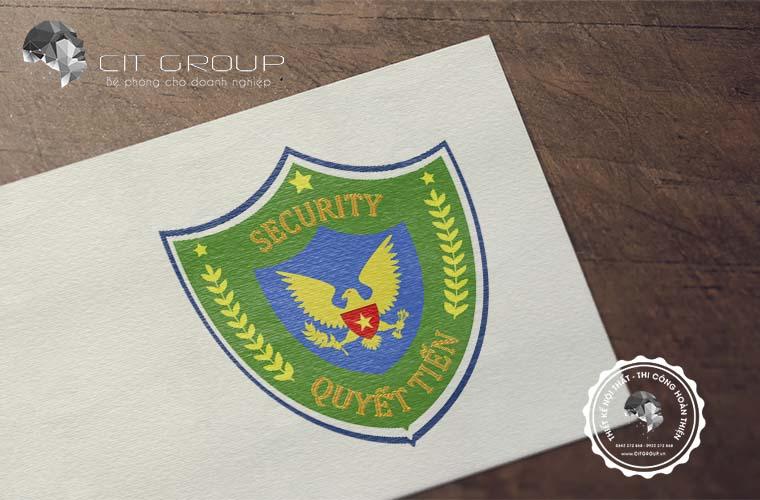 Thiết kế logo công ty Quyết Tiến