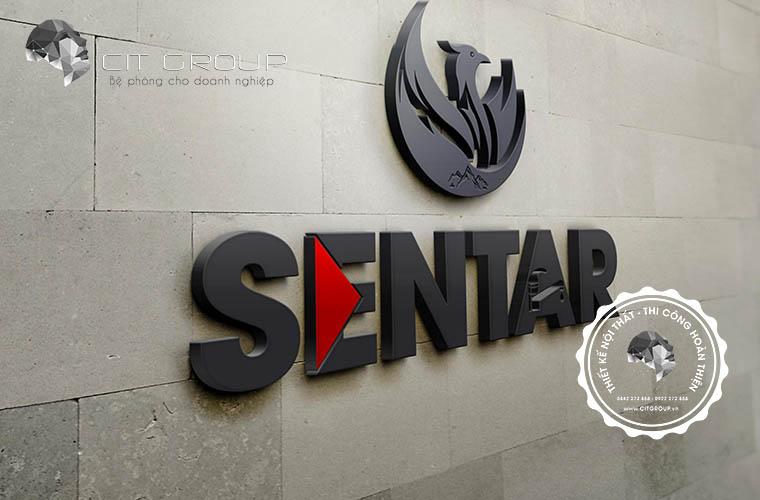 Thiết kế logo công ty Sentar 1