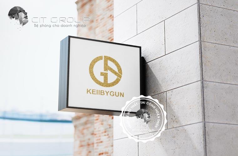 Thiết kế logo shop Kellbygun