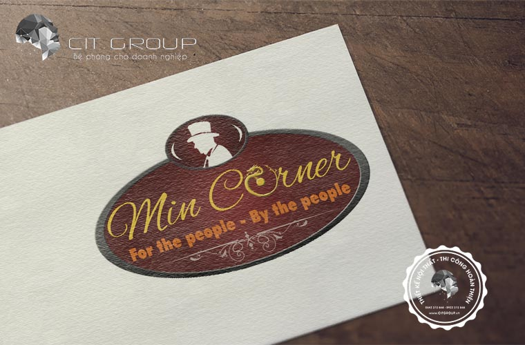 Thiết kế logo shop Min Corner