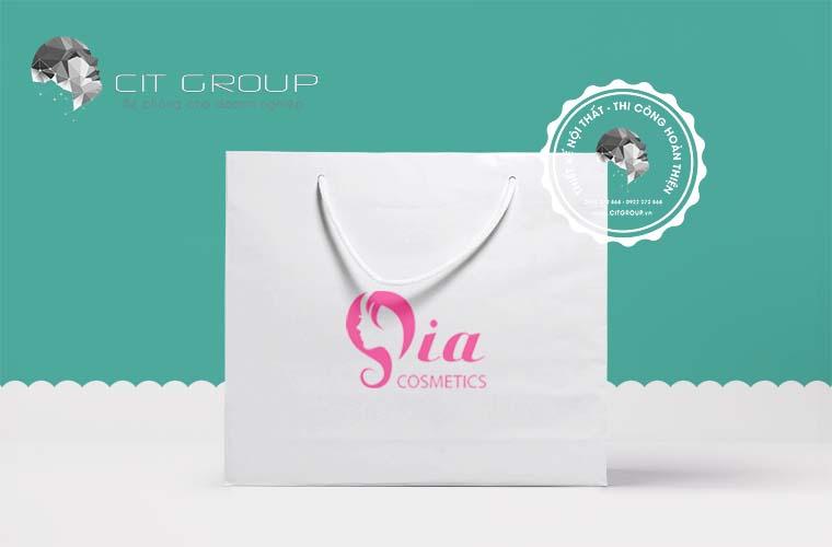 Thiết kế logo shop SIA Cosmetics