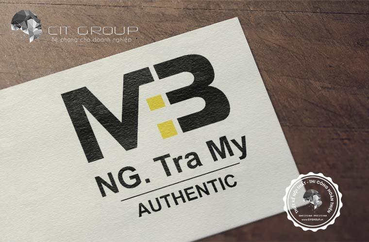 Thiết kế logo shop Trà My