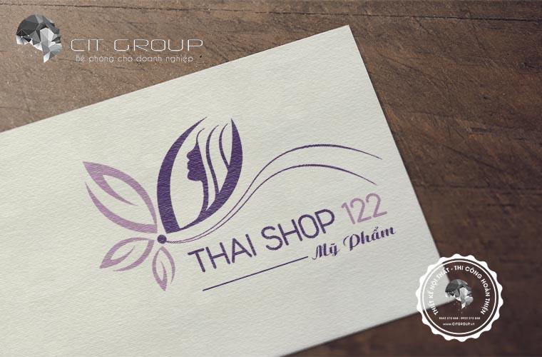 Thiết kế logo shop mỹ phẩm Thái 122