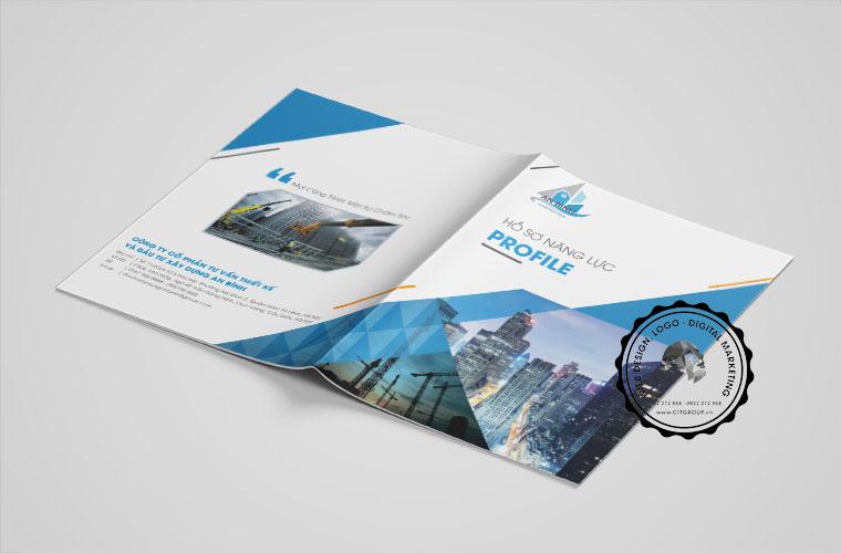 Thiết kế hồ sơ năng lực công ty An Bình