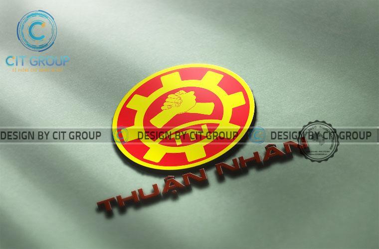 Thiết kế logo công ty Thuận Nhân