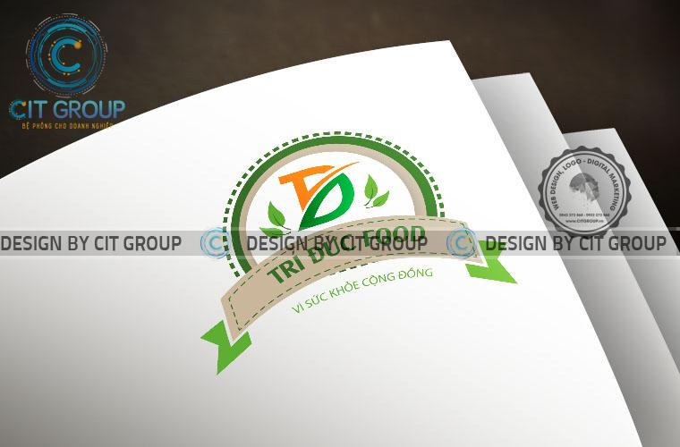 Mẫu logo công ty thực phẩm Trí Đức
