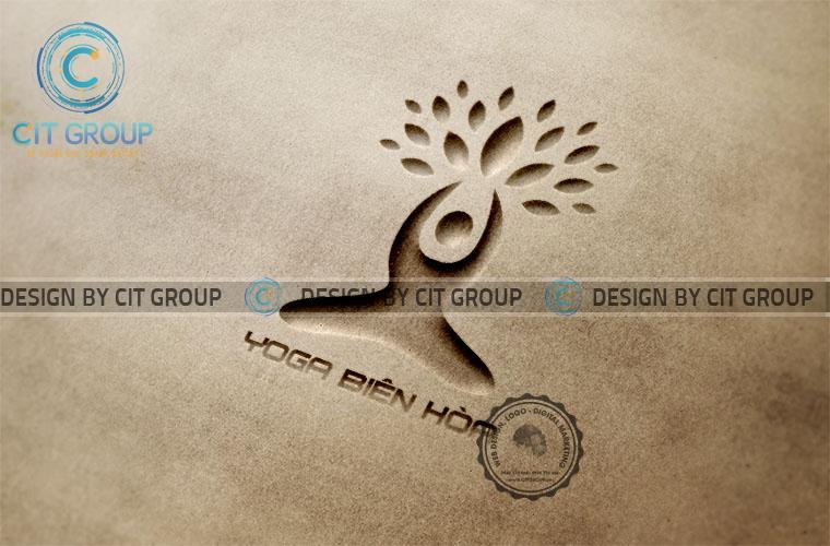 Thiết kế logo Yoga Biên Hòa