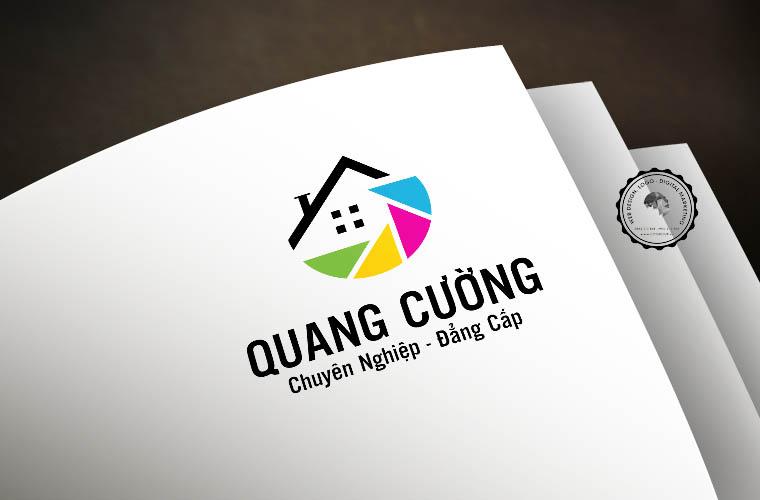 Thiết kế logo công ty Quang Cường