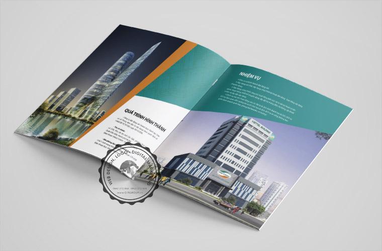 Mẫu profile công ty bất động sản Viettel